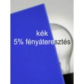 Plexiglas GS - 3 mm - kék - 1010 x 600 mm