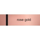 Lézerfólia - 0,2 mm - rose gold / fekete - 610 x 305 mm