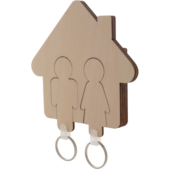 """Haus"" kulcstartó"