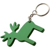 """""""Alp"""" kulcstartó - zöld szarvas"""