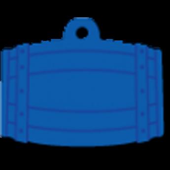 Kutyabiléta - hordó alakú