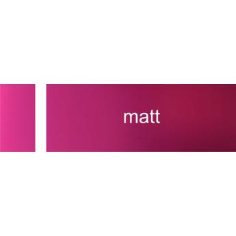 Laserply - 1,5 mm - matt rózsaszín / fehér  -  610 x 610 mm