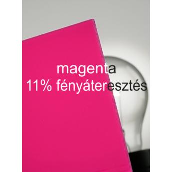 Plexiglas GS - 3 mm - magenta - 600 x 505 mm