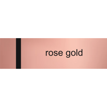 Laserply - 1,5 mm - rose gold / fekete  -  1220 x 610 mm