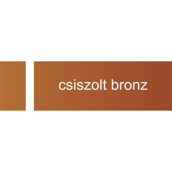 Transply - 0,8 mm - csiszolt bronz / fehér - 610 x 305 mm