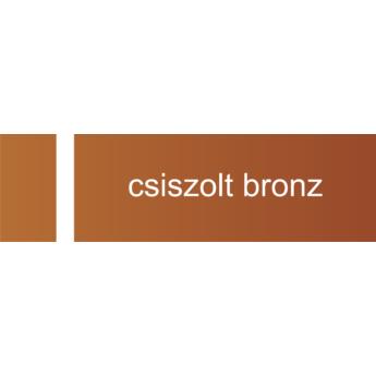 Transply - 1,5 mm -  csiszolt bronz / fehér - 610 x 305 mm