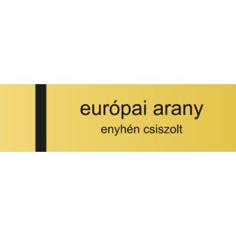 Transply HD - 0,8 mm - európai arany / fekete - 610 x 305 mm