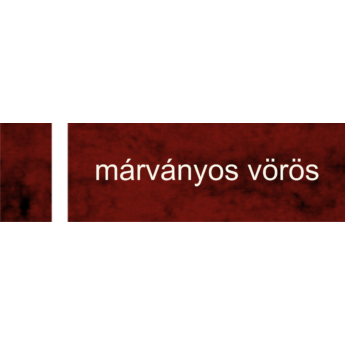 Transply - 1,5 mm - márványos vörös / fehér - 1220 x 610 mm