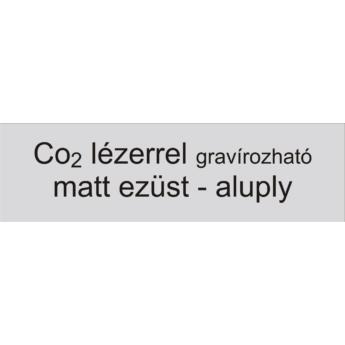 Aluply - 0,5 mm - matt ezüst - 500 x 500 mm