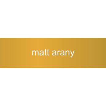 Alumínium - 0,5 mm - matt arany - 1000 x 500 mm