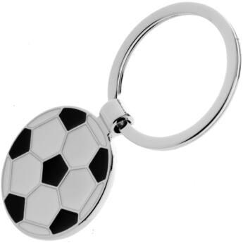 Labda alakú, gravírozható kulcstartó - www.mdlinekft.hu