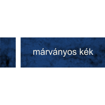 Lézerfólia - 0,2 mm - márványos kék / fehér - 610 x 305 mm