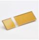 Transakril - 3,2 mm - fényes átlátszó /arany  - 1220 x 610 mm