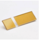 Transakril - 3,2 mm - fényes átlátszó / arany  - 610 x 610 mm
