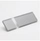 Transakril - 1,5 mm - fényes átlátszó / ezüst - 610 x 305 mm