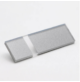 Transakril - 3,2 mm - fényes átlátszó / ezüst - 610 x 305 mm