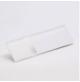 Transakril - 1,5 mm - fényes átlátszó / fehér - 610 x 305 mm