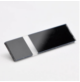 Transakril - 1,5 mm - fényes átlátszó / fekete - 610 x 610 mm