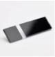 Transakril - 1,5 mm - fényes átlátszó / fekete - 300 x 200 mm