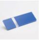 Transakril - 1,5 mm - fényes átlátszó / kék - 300 x 200 mm