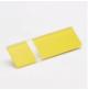 Transakril - 1,5 mm - fényes átlátszó / sárga - 300 x 200 mm